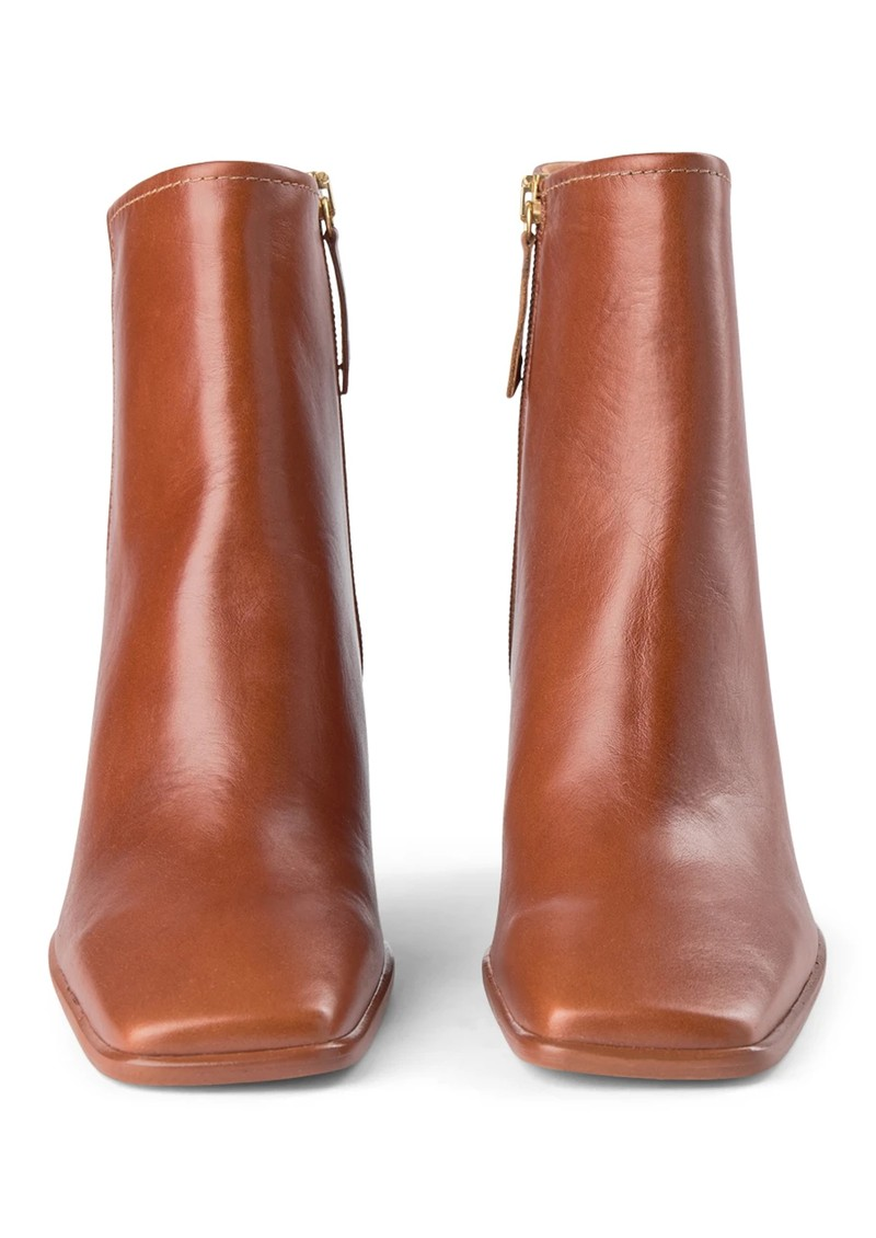 SHOE THE BEAR Agata Leather Ankle Boots - Tan main image
