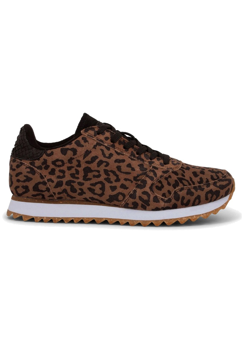 WODEN Ydun Suede Trainers - Leopard main image