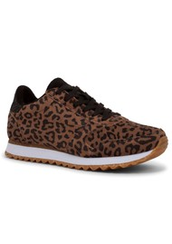 WODEN Ydun Suede Trainers - Leopard