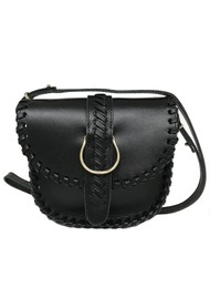 CRAIE Mini Luna Stitched Cross Body Bag - Noir