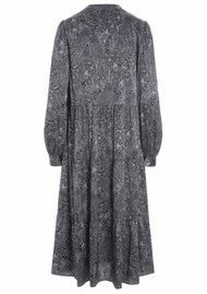 DEA KUDIBAL Cathrin Silk Dress - Jungle Grey
