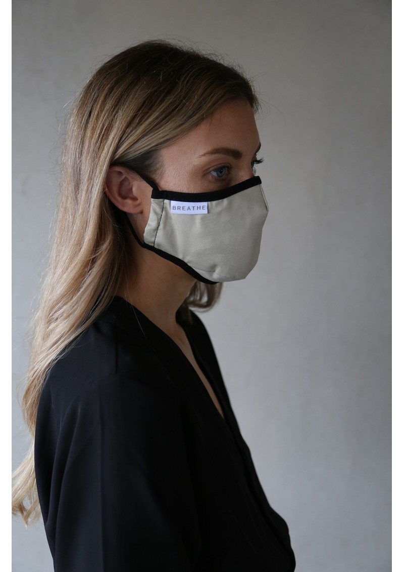 BREATHE Adult Face Mask - Natural main image