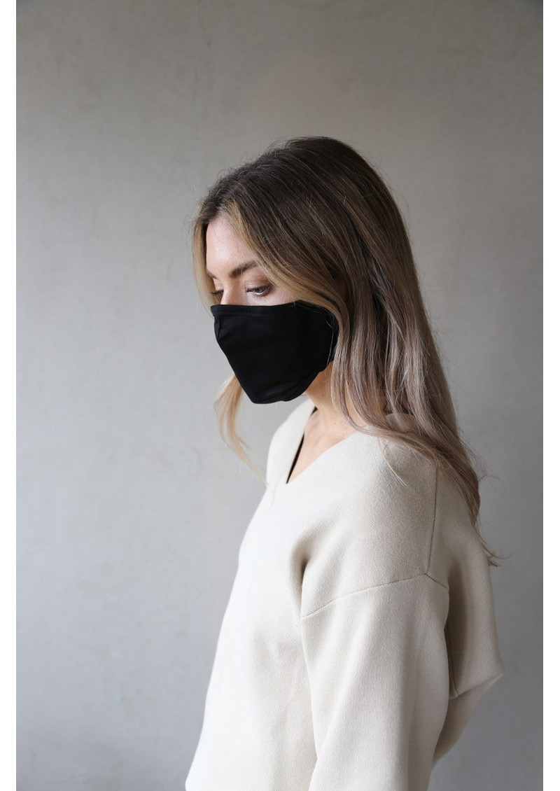 BREATHE Adult Face Mask - Black main image