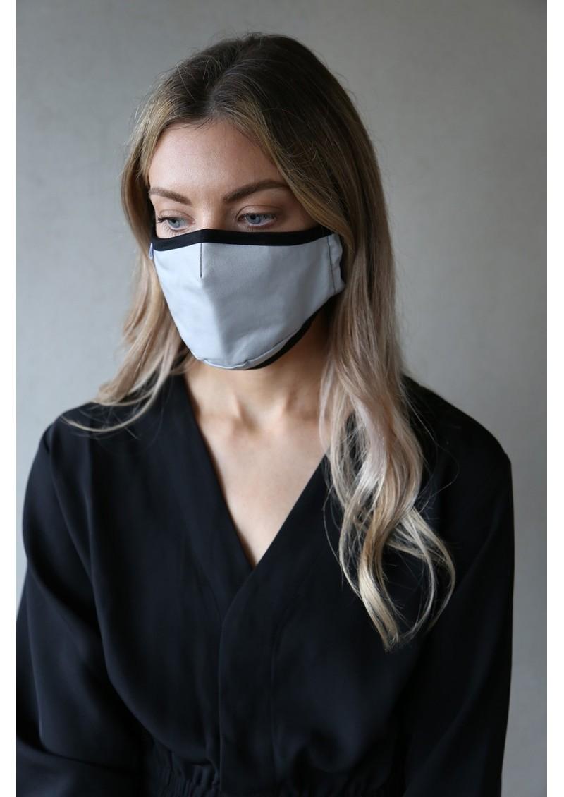 BREATHE Adult Face Mask - Grey main image