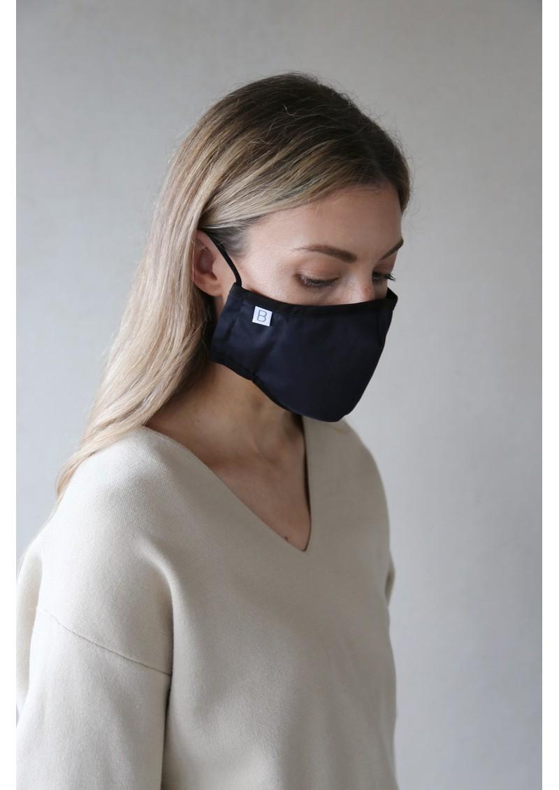 BREATHE Adult Face Mask - Navy main image