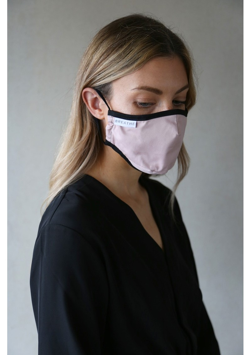 BREATHE Adult Face Mask - Pink main image