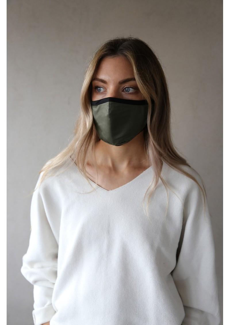 BREATHE Adult Face Mask - Khaki main image