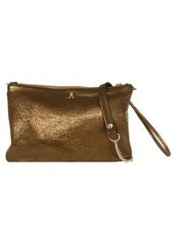 CRAIE Pochoir Leather Bag - Bronze