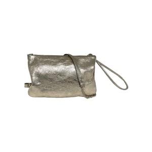 Pochoir Leather Bag - Gold