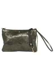 CRAIE Pochoir Leather Bag - Metal