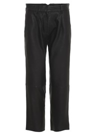 MDK Iris Leather Trousers - Black
