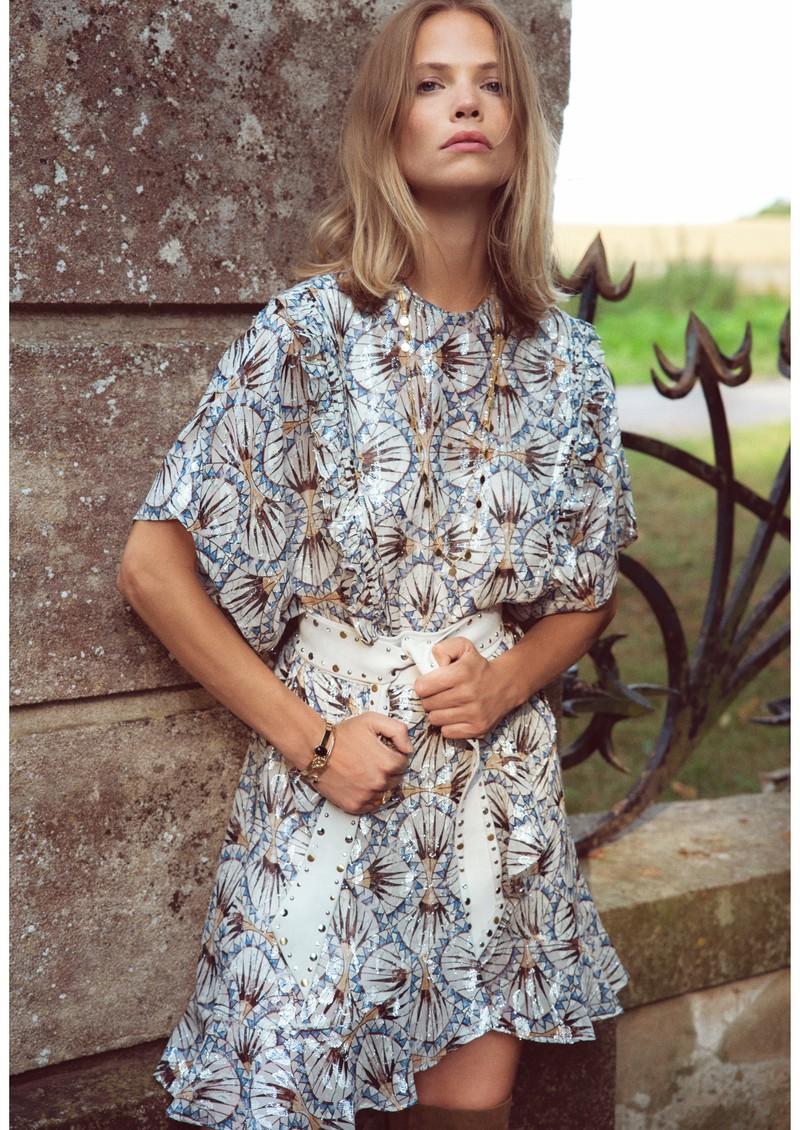 BERENICE Really Silk Dress - Dynastic Print main image