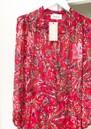 BERENICE Sonia Printed Wrap Dress - Red Palace