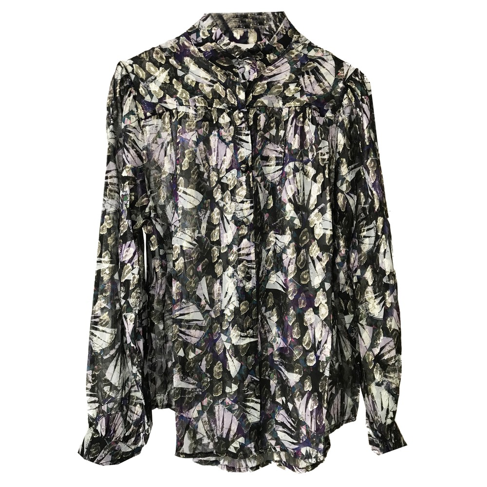 Chris Silk Shirt - Black Dynastie