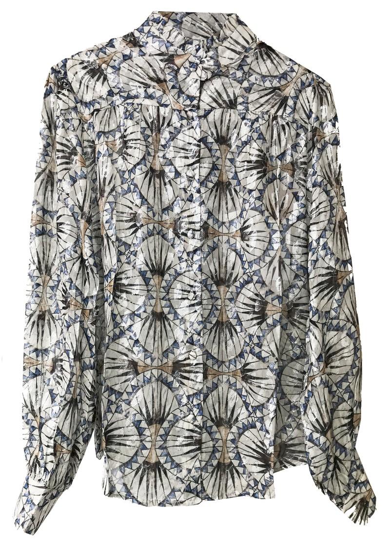 BERENICE Chris Silk Shirt - Dynastie Print main image