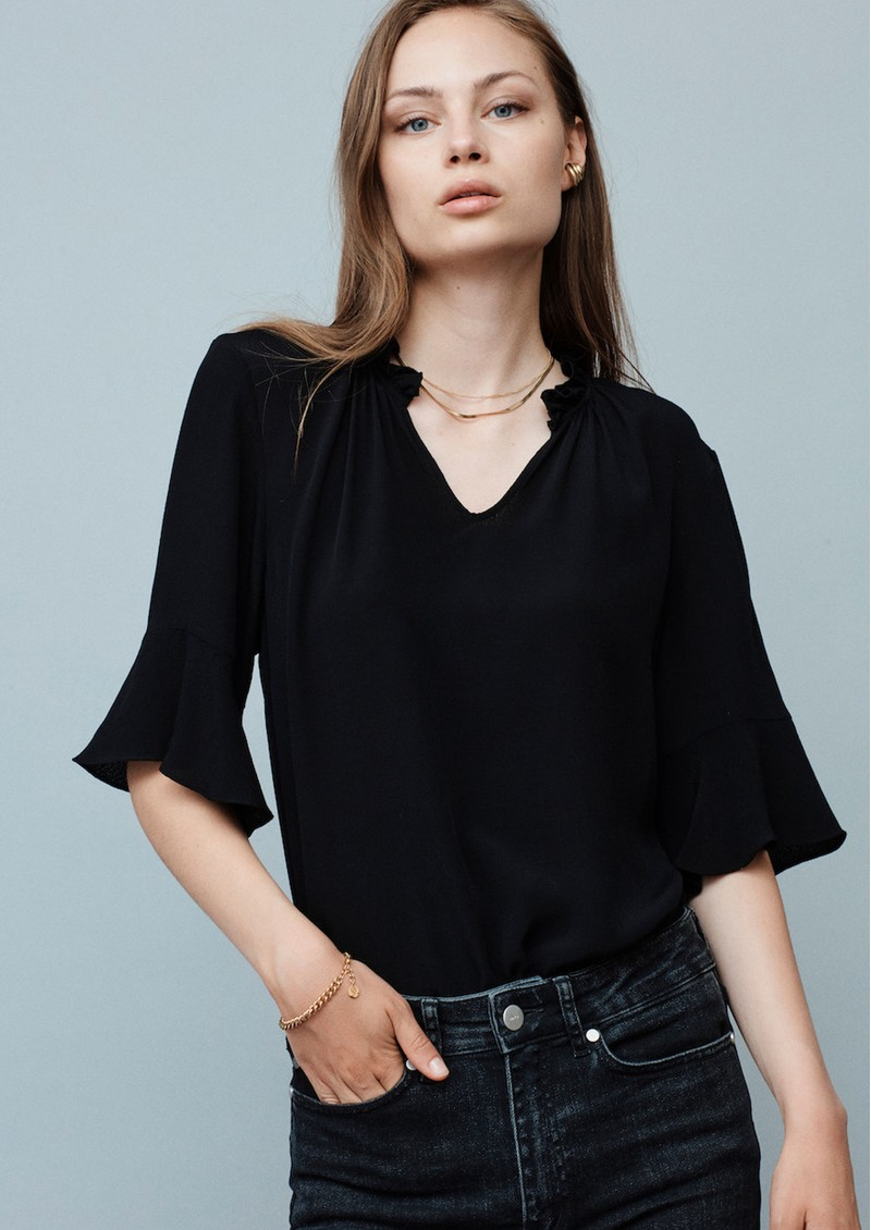 MAYLA Carrie Blouse - Black main image