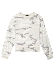 Rails Ramona Sweater - Stone Camo