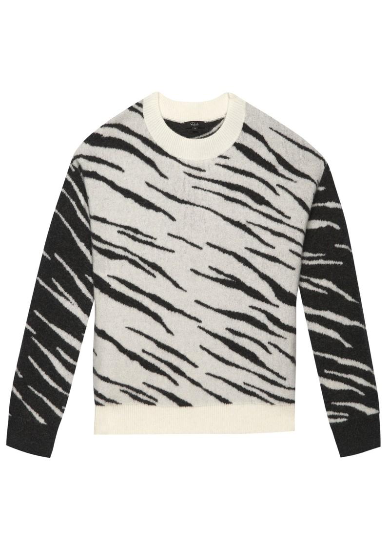 Rails Lana Jumper - Abstract Tiger main image