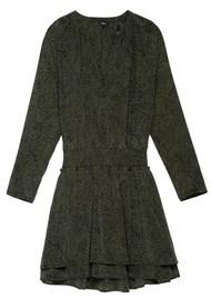 Rails Jasmine Printed Dress - Olive Speckled