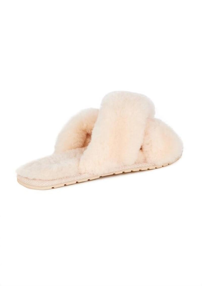 EMU Mayberry Crossover Sheepskin Slipper Slide - Natural main image