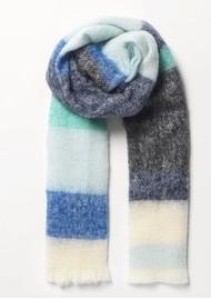 Becksondergaard Ingris Stripe Scarf - Blue