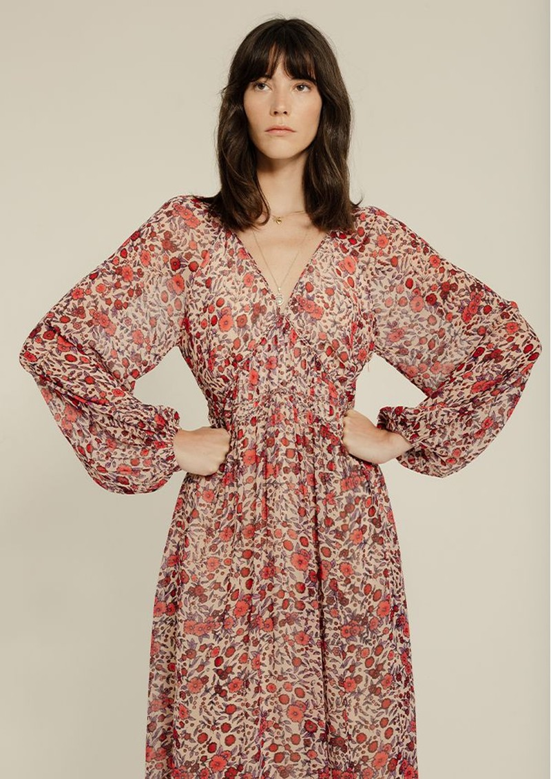 Lily and Lionel Phoebe Dress - Wild Rose main image