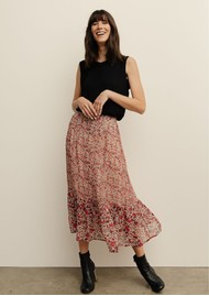 Lily and Lionel Carrie Skirt - Wild Rose