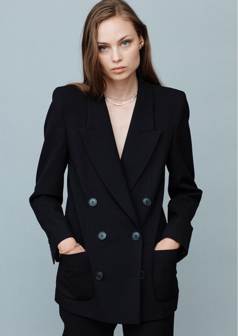 MAYLA Charlie Blazer - Black main image