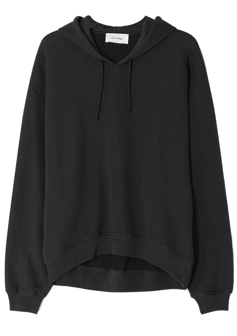 American Vintage Fobye Hoodie Sweatshirt - Vintage Black main image