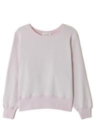 American Vintage Fobye Organic Cotton Sweatshirt - Baby Lilas