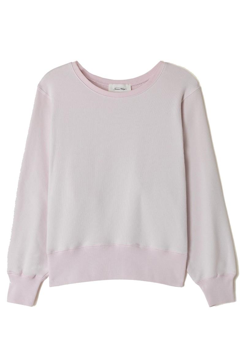 American Vintage Fobye Organic Cotton Sweatshirt - Baby Lilas main image