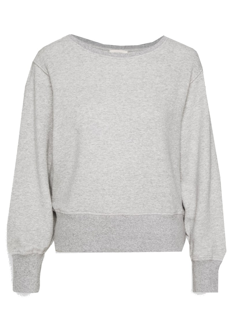 American Vintage Neaford Cotton Sweatshirt - Grey Melange main image