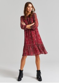 MOLIIN Alba Dress - Aurora Red