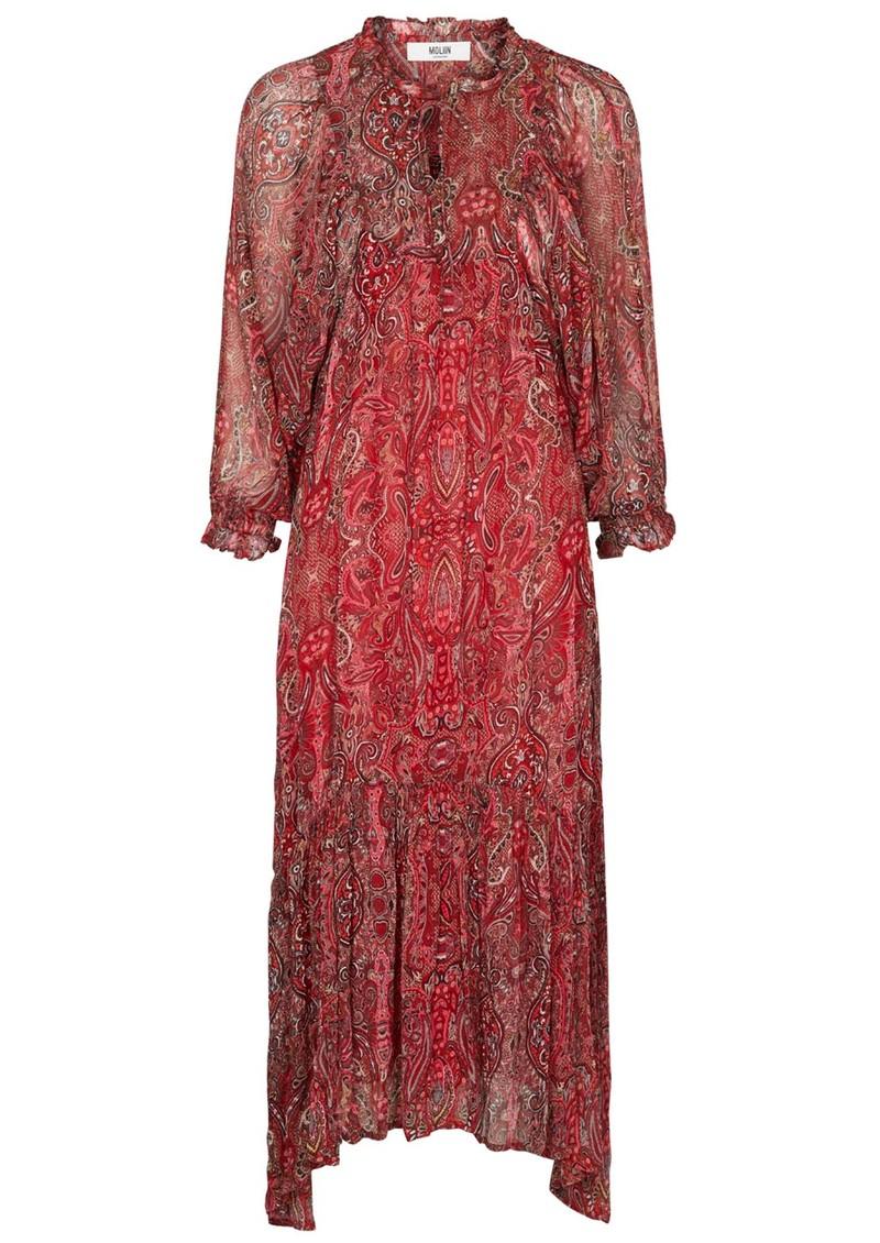 MOLIIN Rie Dress - Aurora Red main image