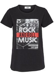 MOLIIN Sasia T-Shirt - Black