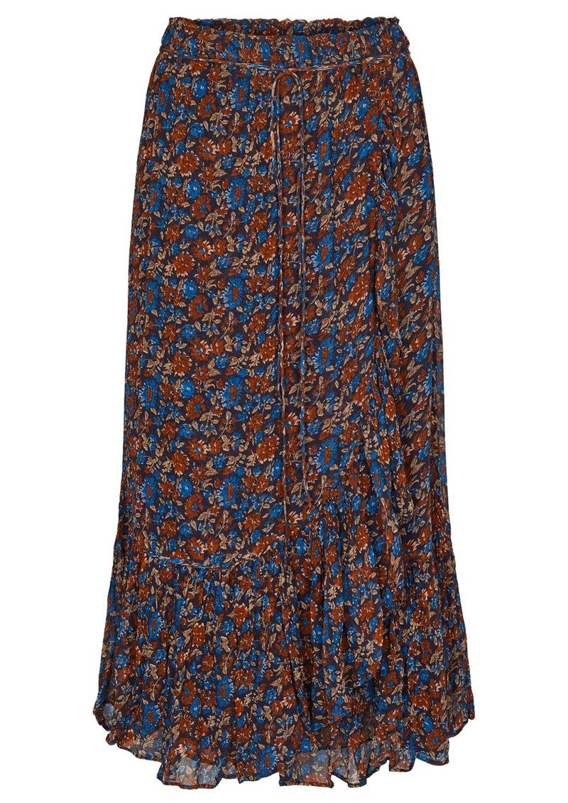 MOLIIN Yrsa Midi Skirt - Peacoat main image