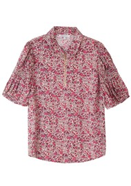 Lily and Lionel Amelia Top - Wild Rose
