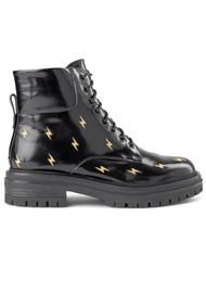 SHOE THE BEAR Franka Bolt Leather Boot - Black