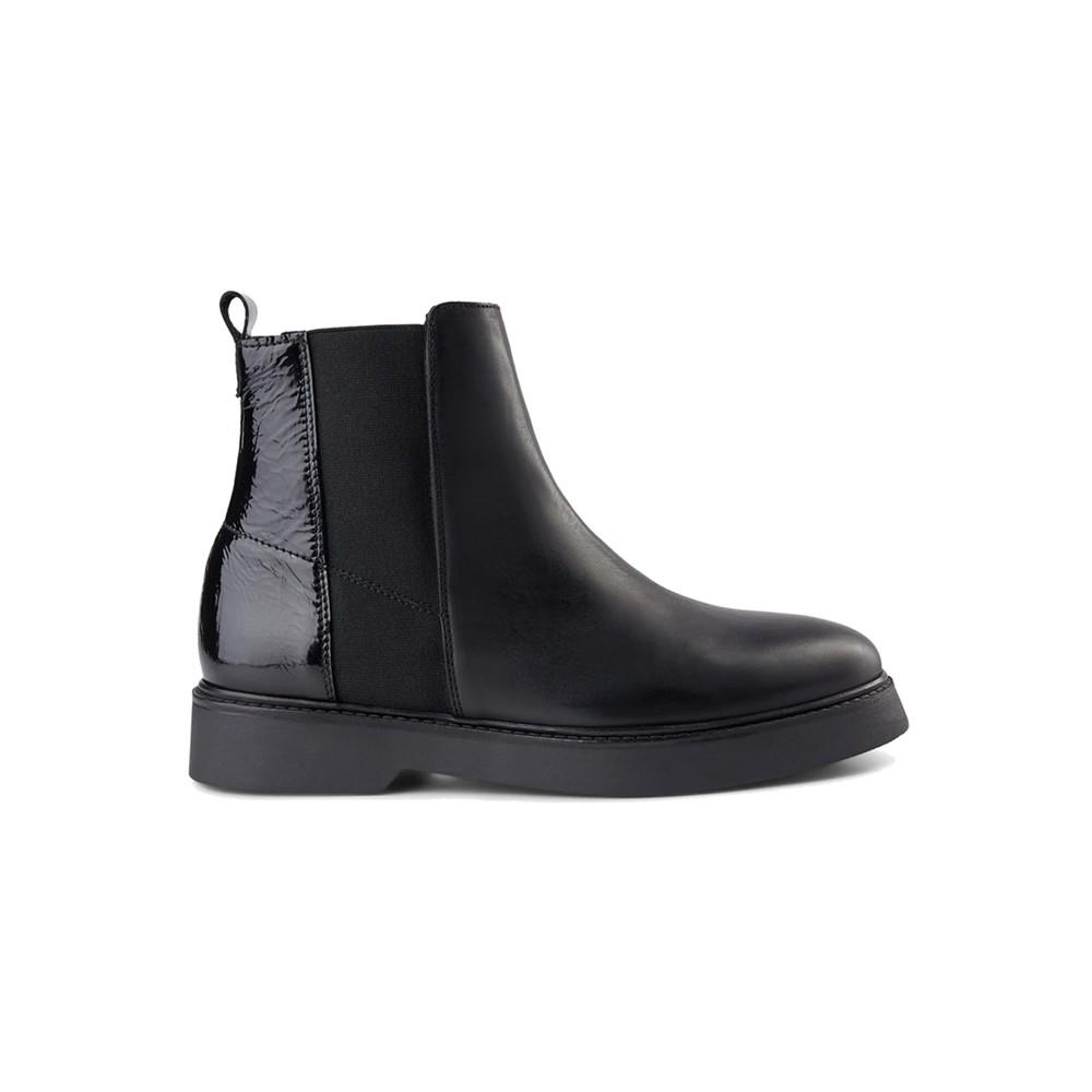 Billie Leather Chelsea Boot - Black