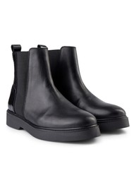 SHOE THE BEAR Billie Leather Chelsea Boot - Black