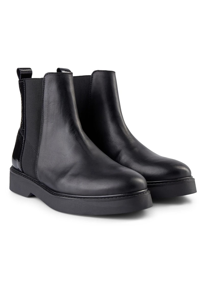 SHOE THE BEAR Billie Leather Chelsea Boot - Black main image