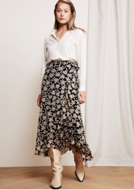 FABIENNE CHAPOT Bobo Frill Skirt - Blossom Bouquet