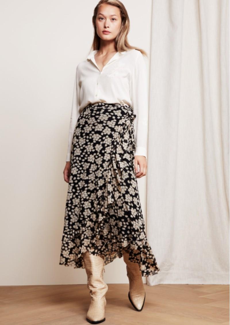 FABIENNE CHAPOT Bobo Frill Skirt - Blossom Bouquet main image