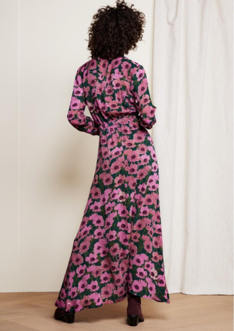 FABIENNE CHAPOT Liselotte Dress - Purple Poppies main image