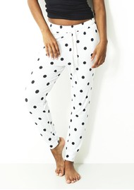 STRIPE & STARE Lounge Pant - Polka Dot
