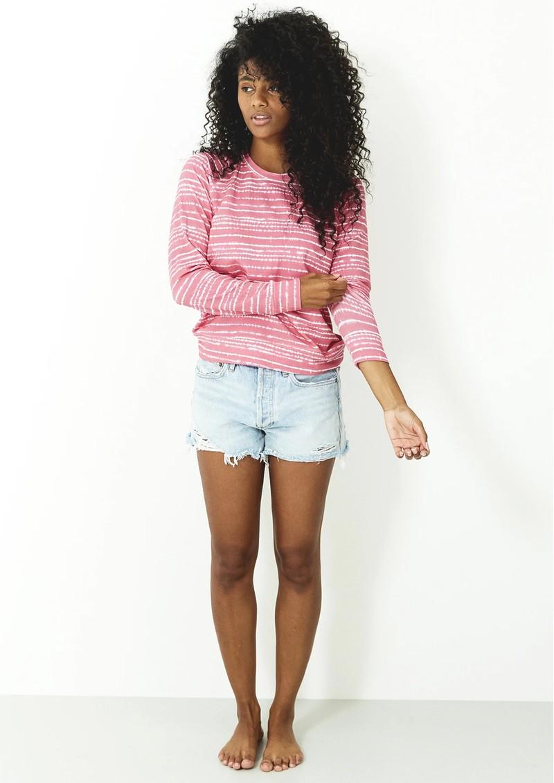 STRIPE & STARE Essential Sweatshirt - Pink Wave main image