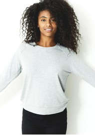 STRIPE & STARE Essential Sweatshirt - Grey