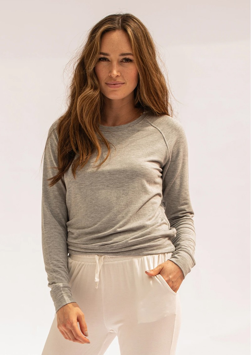 STRIPE & STARE Essential Sweatshirt - Grey main image