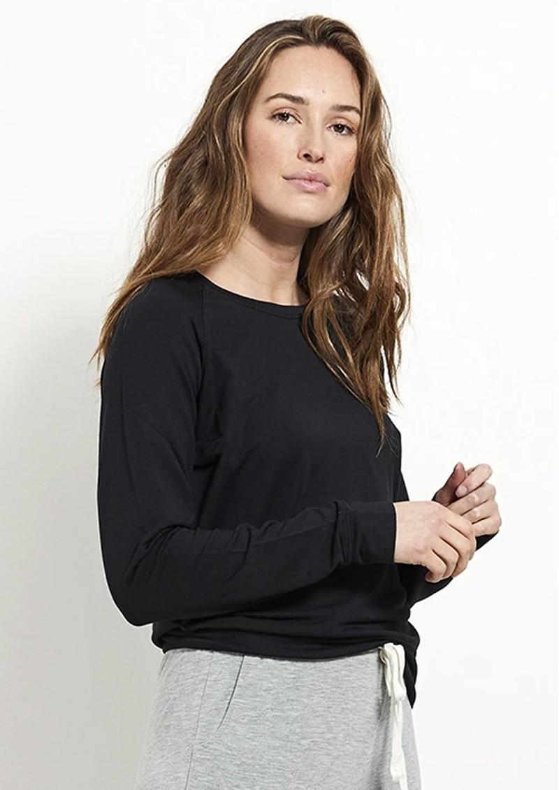 STRIPE & STARE Essential Sweatshirt - Black main image