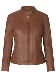 Day Birger et Mikkelsen  Day Baldizi Leather Jacket - Carmello